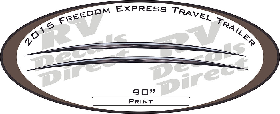 2015 Freedom Express Travel Trailer