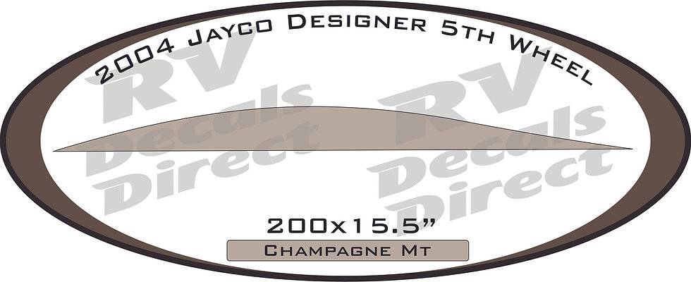 2004 Jayco Designer 5th Wheel