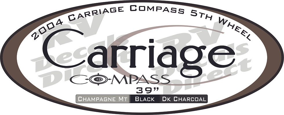 2004 Carriage Compass 5th Wheel
