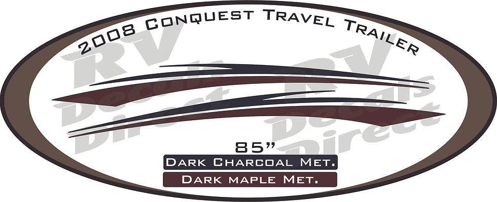 2008 Conquest Travel Trailer