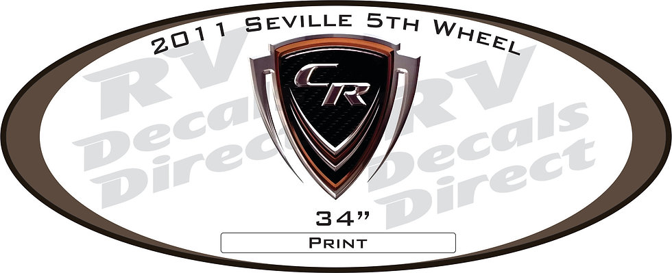 2011 Seville 5th Wheel