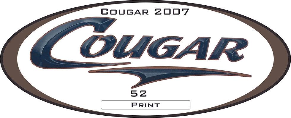 2007 Cougar 5th wheel
