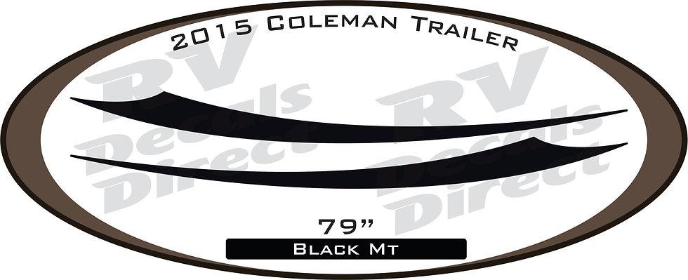 2015 Coleman Travel Trailer