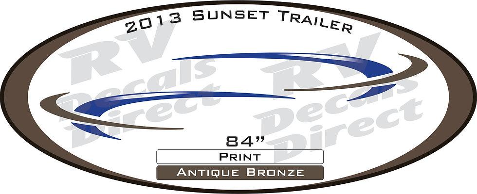 2013 Sunset Trail Travel Trailer
