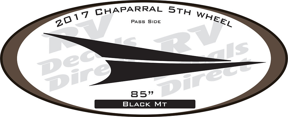 2017 Chaparral 5th Wheel