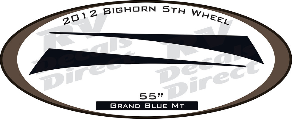 2012 Bighorn 5th Wheel