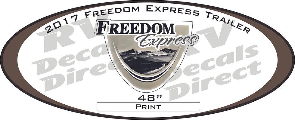 2017 Freedom Express Travel Trailer