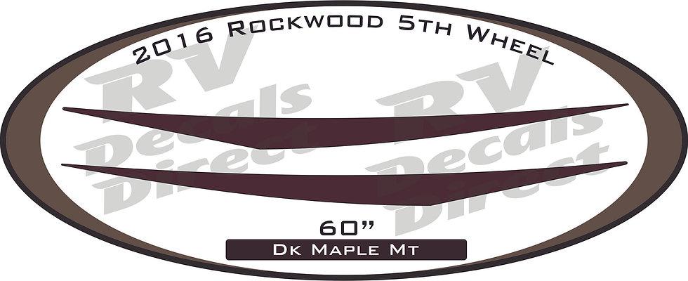 2016 Rockwood 5th Wheel