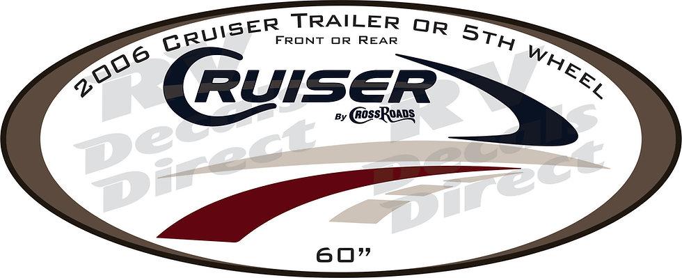 2006 Cruiser Travel Trailer or 5th Wheel