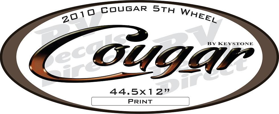 2010 Cougar 5th Wheel