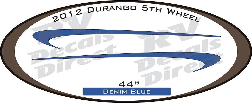 2012 Durango 5th Wheel
