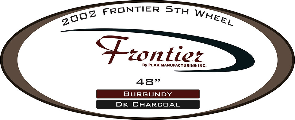 2002 Frontier 5th wheel