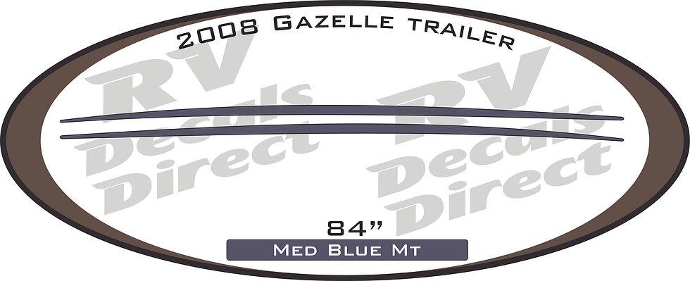 2008 Gazelle Travel Trailer