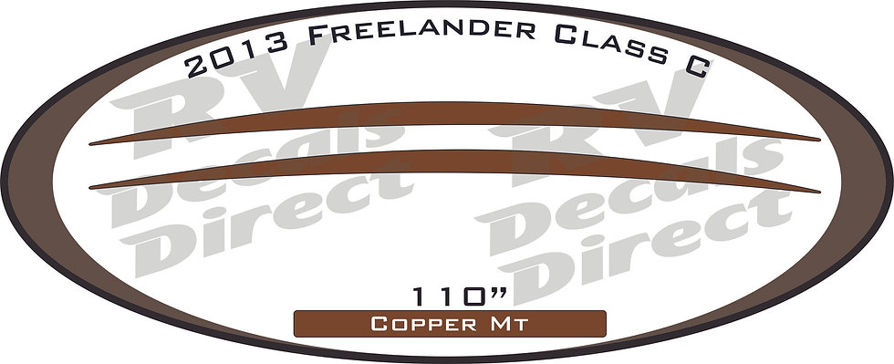 2013 Freelander Class C
