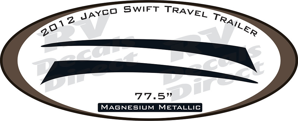 2012 Jayco Swift Travel Trailer