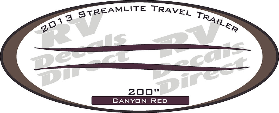 2013 Streamlite Travel Trailer