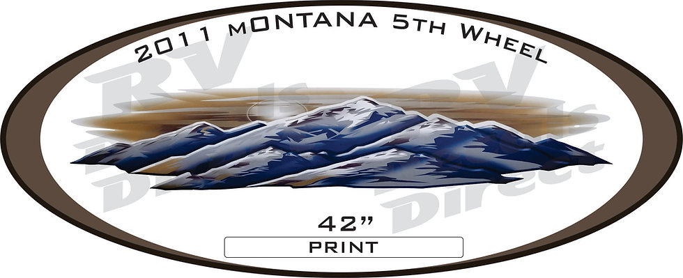 2011 Montana 5th Wheel