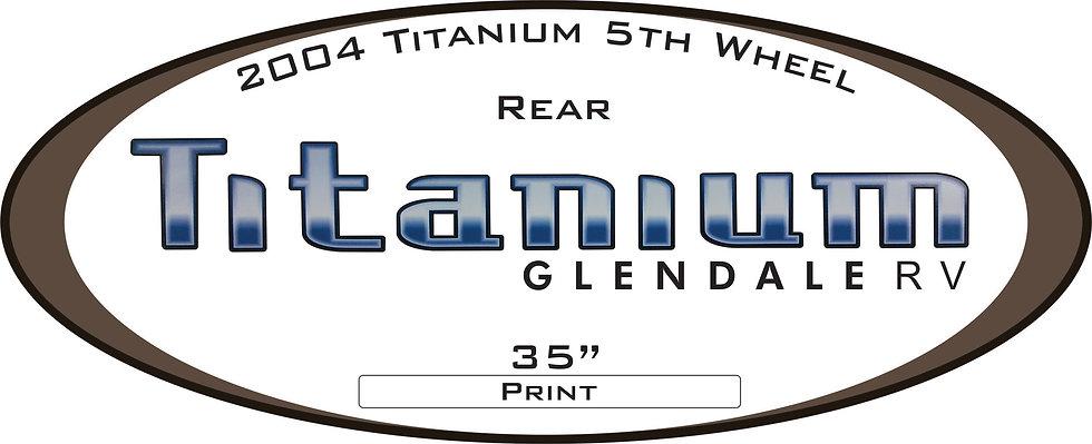 2004 Titanium 5th Wheel