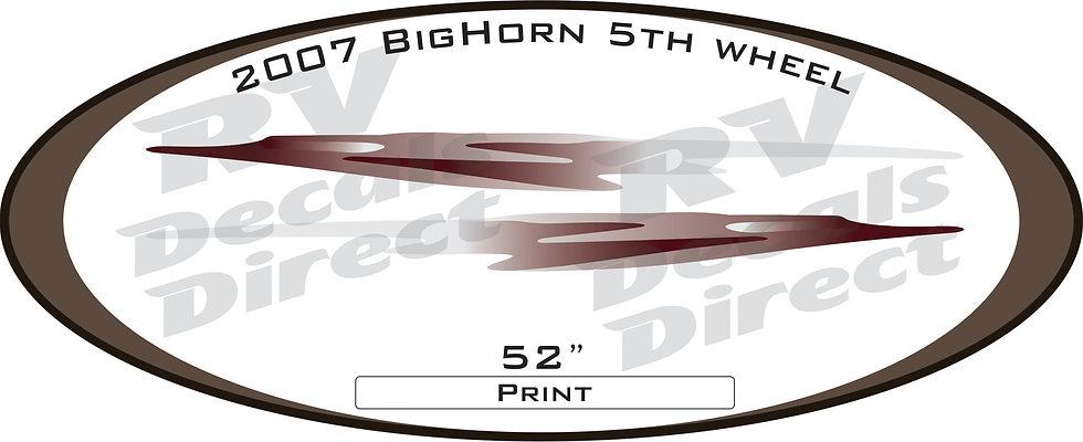 2007 Big Horn 5th Wheel