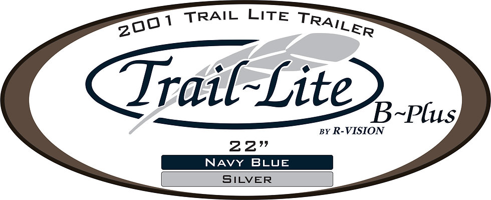 2001 Trail-Lite Travel Trailer