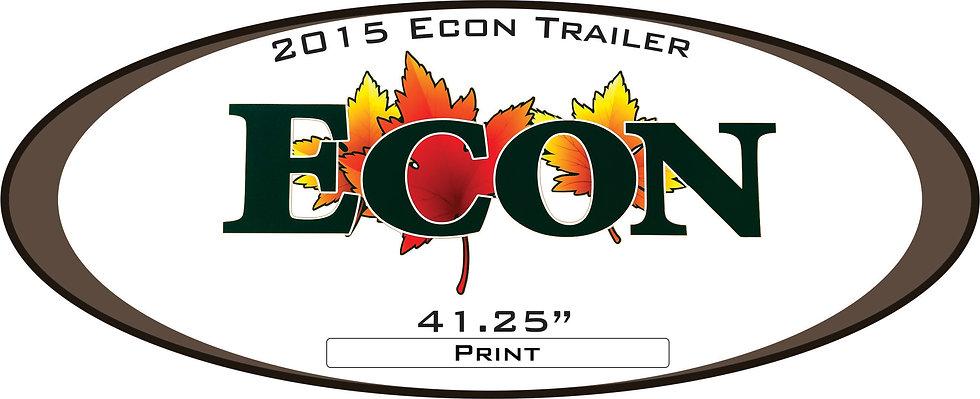 2015 Econ Travel Trailer