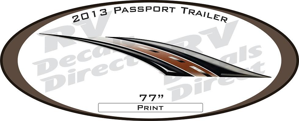 2013 Passport Travel Trailer