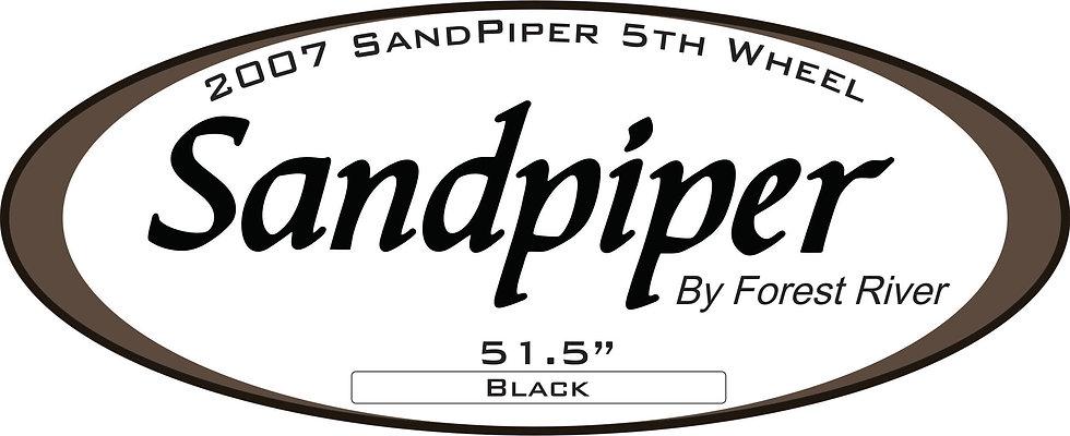 2007 Sandpiper 5th Wheel