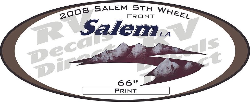 2008 Salem 5th Wheel