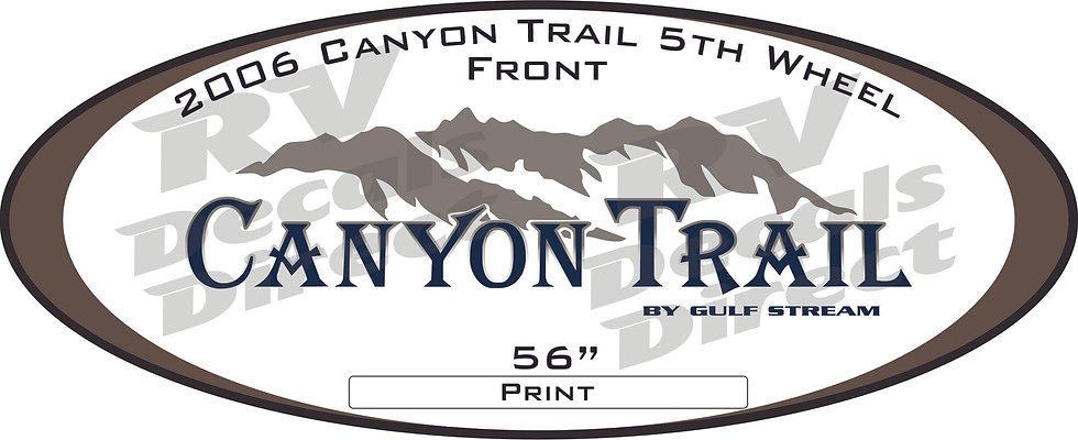 2006 Canyon Trail 5th Wheel