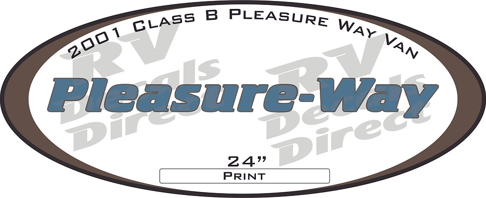 2001 Pleasure Way Class B
