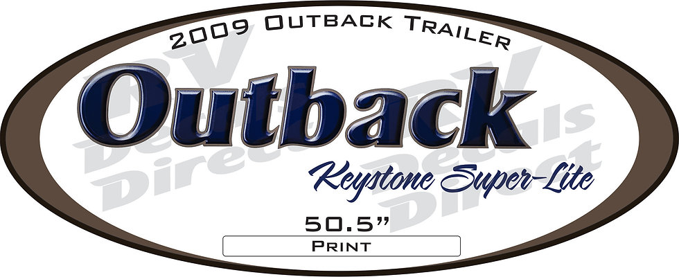 2009 Outback Travel Trailer
