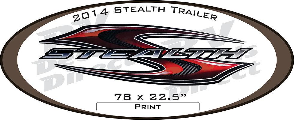 2014 Stealth Travel Trailer
