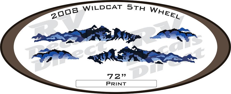 2008 Wildcat 5th Wheel