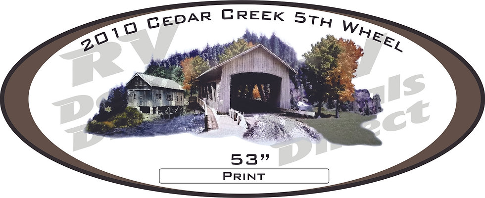 2010 Cedar Creek 5th Wheel