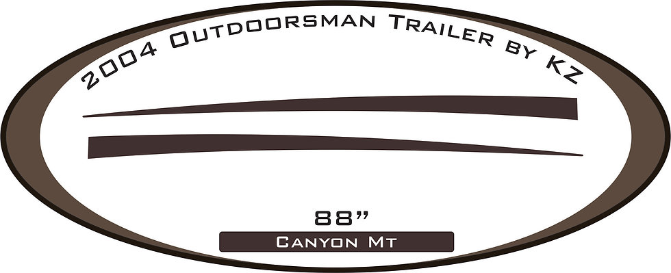 2004 Outdoorsman Trailer