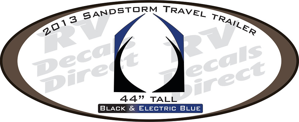 2013 SandStorm Travel Trailer