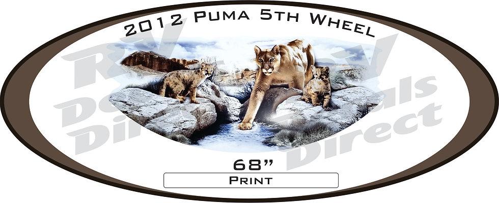 2012 Puma 5th Wheel
