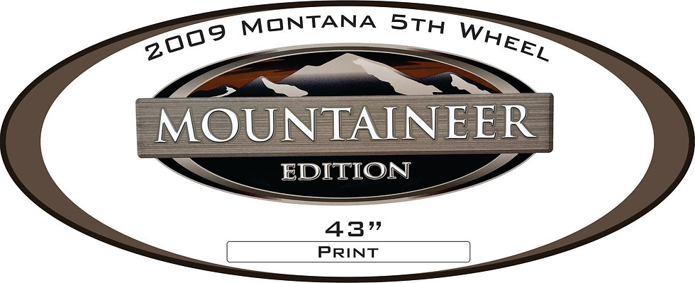 2009 Montana Mountaineer Edition 5th wheel