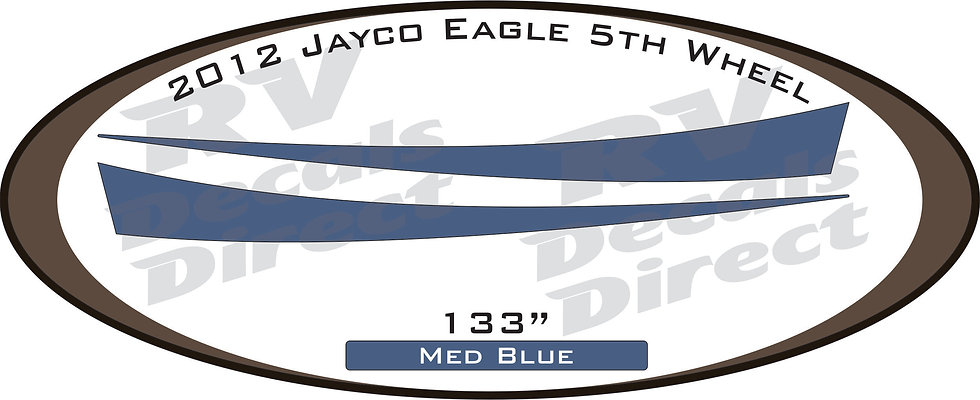 2012 Jayco Eagle 5th Wheel