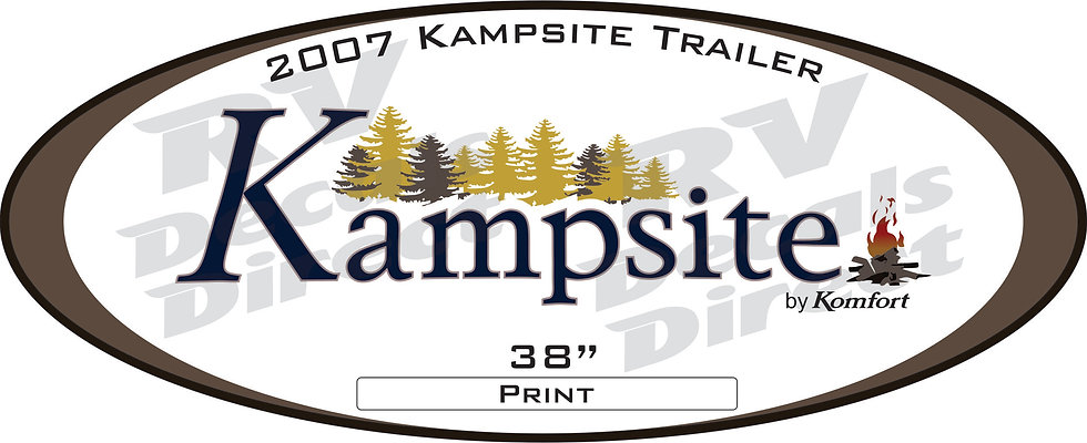 2007 Kampsite Travel Trailer