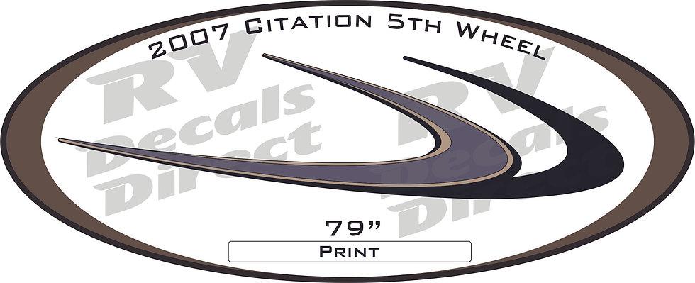 2007 Citation Supreme 5th Wheel