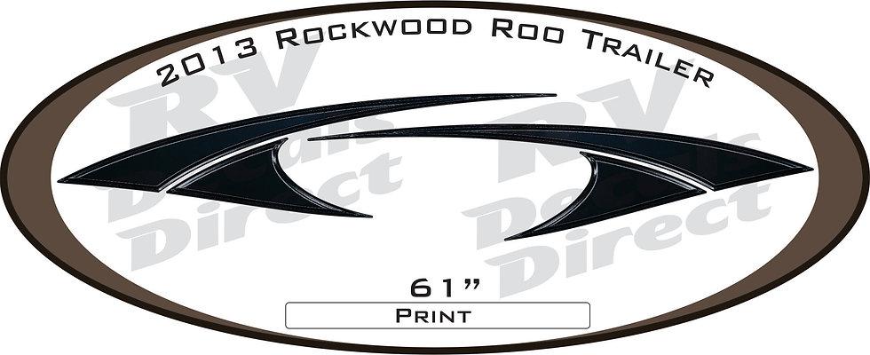 2013 Rockwood Roo Travel Trailer