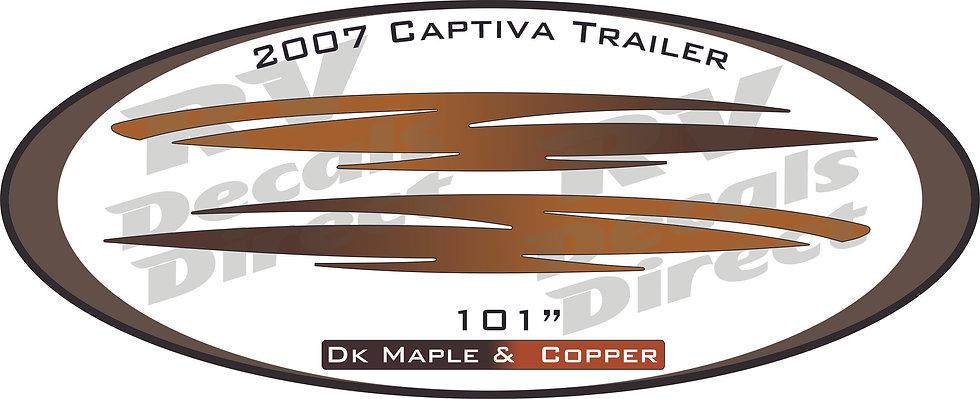 2007 Captiva Travel Trailer