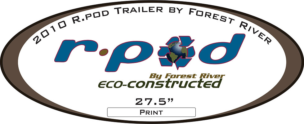 2010 R.Pod (Eco-Constructed) Travel Trailer