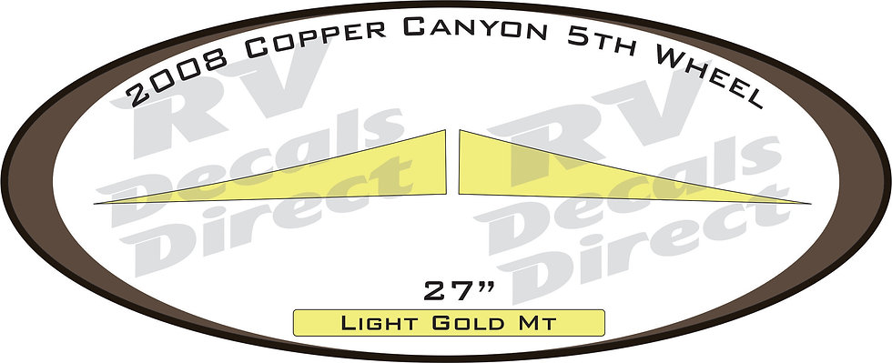 2008 Copper Canyon 5th Wheel