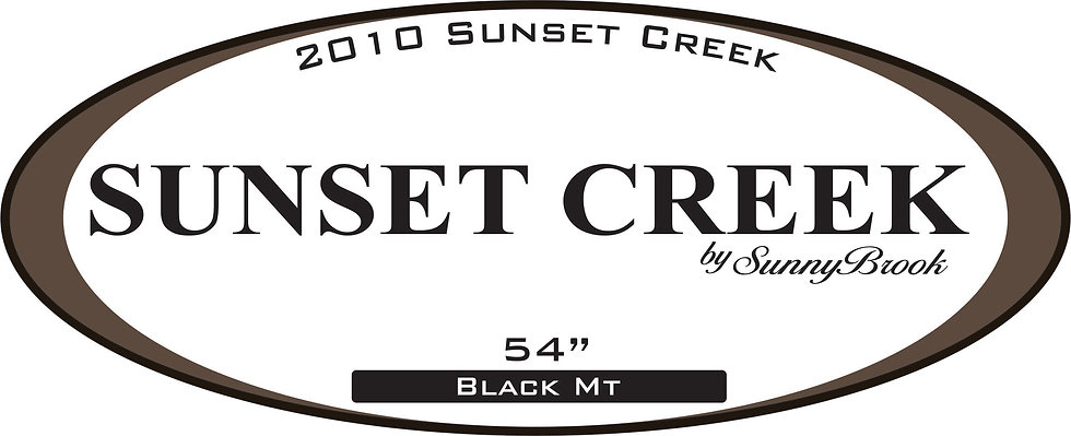 2010 Sunset Creek Travel Trailer