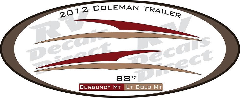 2012 Coleman Travel Trailer