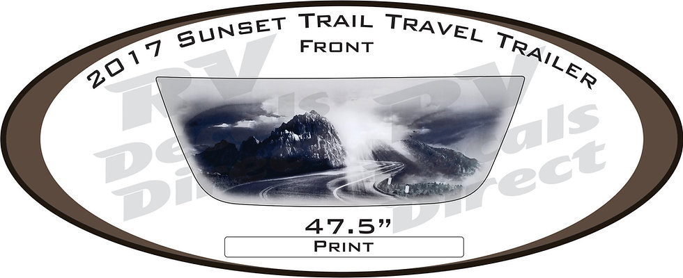 2017 Sunset Trail Travel Trailer
