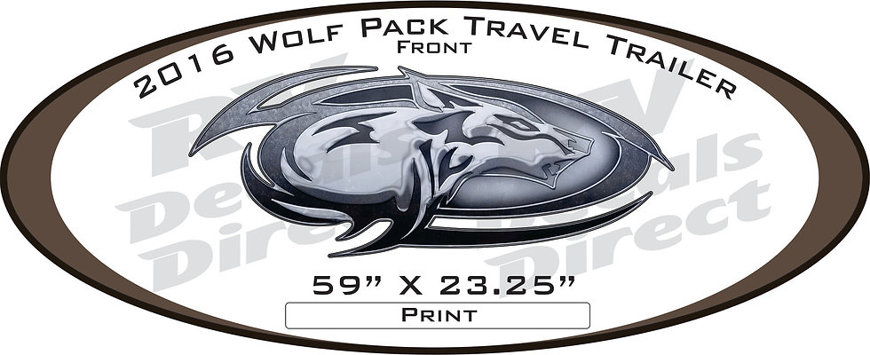 2016 Wolf Pack Travel Trailer