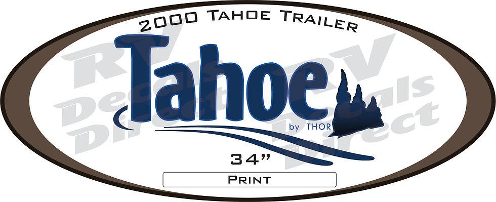2000 Tahoe Travel Trailer